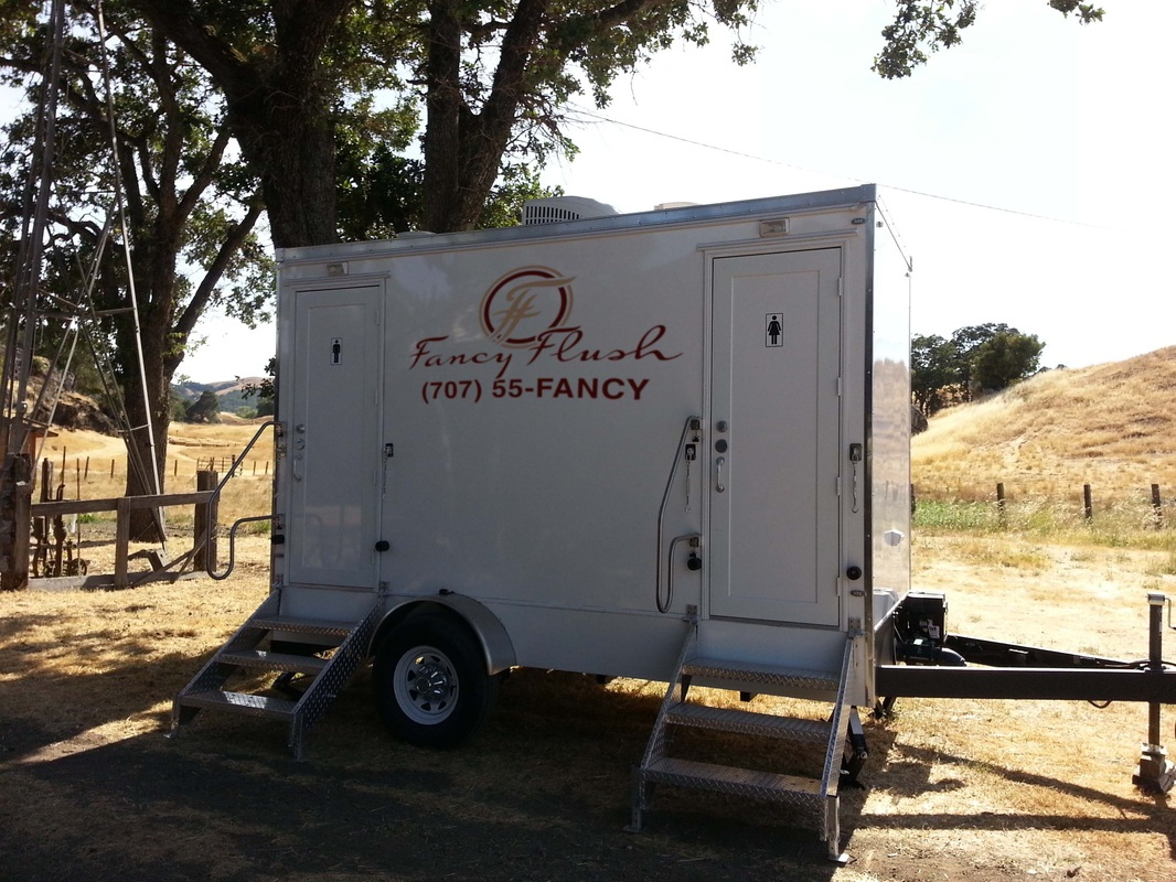 Portable Luxury Restroom Rental In Napa Ca Fancy Flush