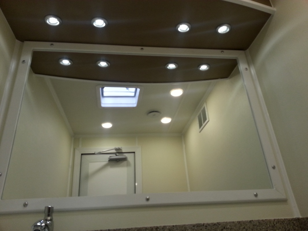 Executive Restroom Hire Interior